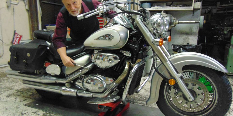 Storage tips for motorcycles