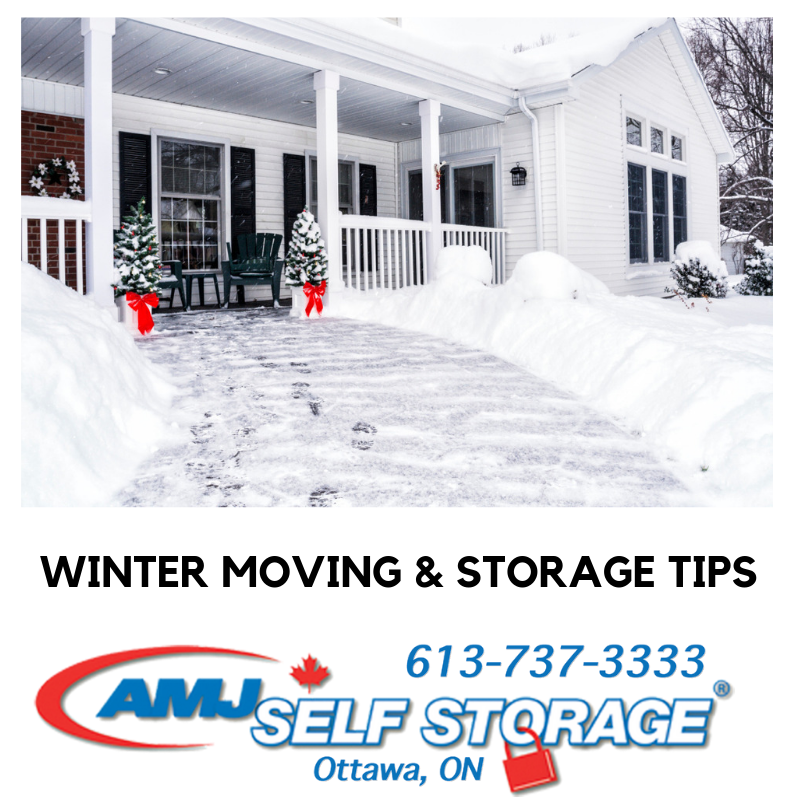 Winter Moving and Storage Tips