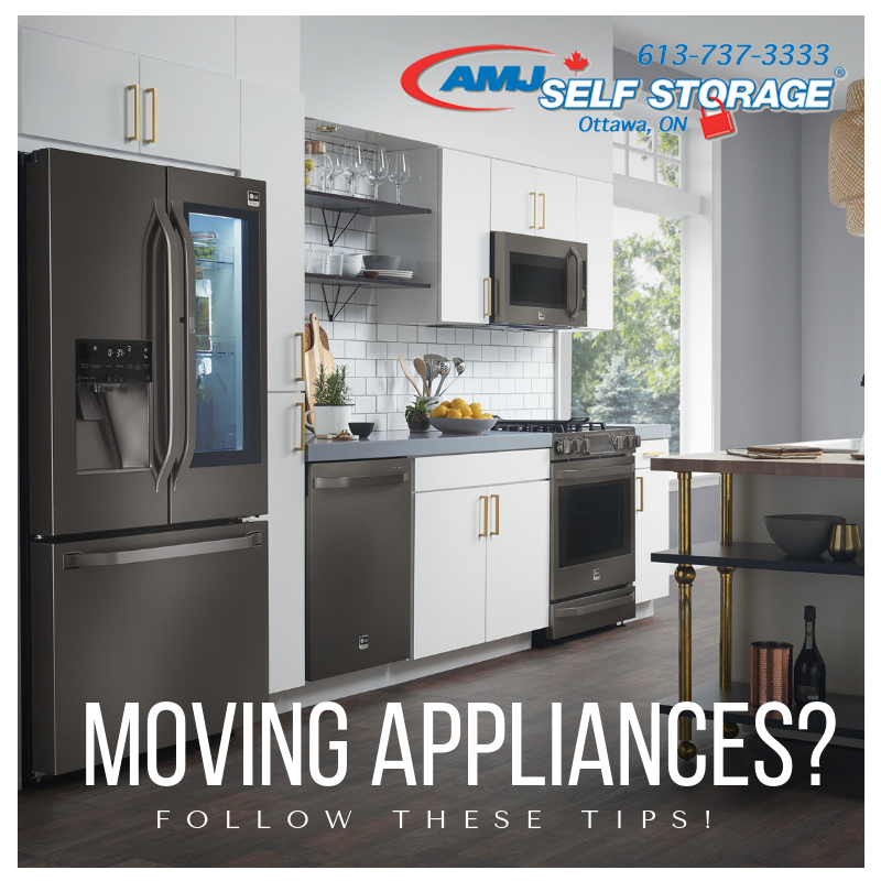 Best Tips for Moving Appliances