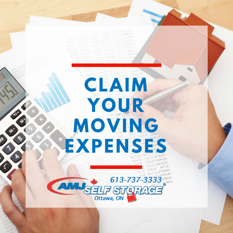 Claim your Moving Expenses